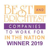 Beset and Brightest Companies to Work for in the Nation Winner 2019
