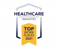 Top Work Places in Healthcare 2021